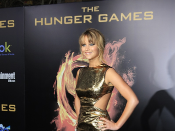 Katniss Everdeen in 'The Hunger Games'