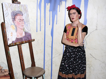 Frida Kahlo in 'Frida'