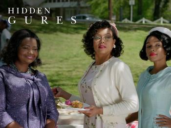 De vrouwen in 'Hidden Figures'