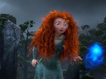 Merida in 'Brave'