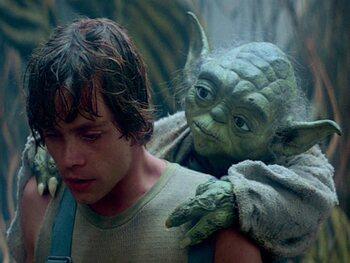 Yoda was niet gemakkelijk te horen