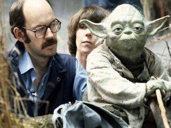 Frank Oz en Yoda-imitaties