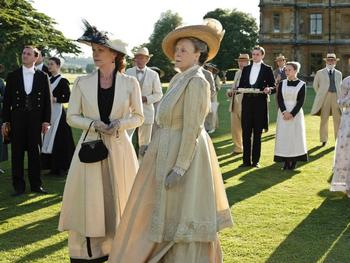 De Downton Abbey-wet