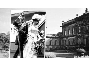 De échte King & Queen op bezoek