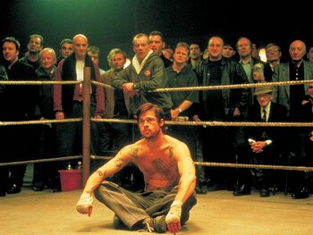 Brad Pitt bokst
