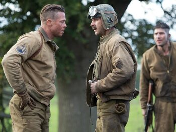 Oorlogsdrama met Brad Pitt