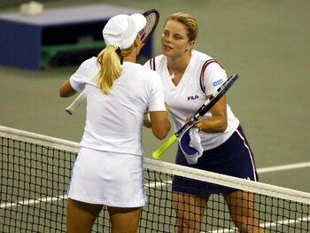 Kim Clijsters vs Justine Henin