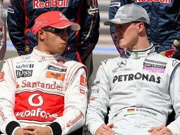 Kan je Lewis Hamilton met Michael Schumacher vergelijken?