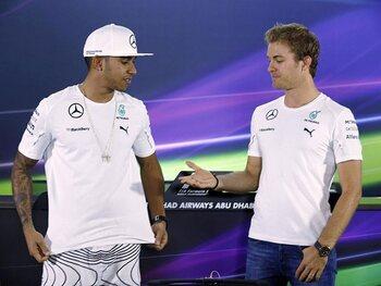 Mercedes, de ster van de paddock