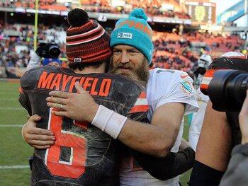 Ryan Fitzpatrick (37 jaar – Miami Dolphins)