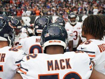 De Bears laten hun klauwen zien in de verdediging