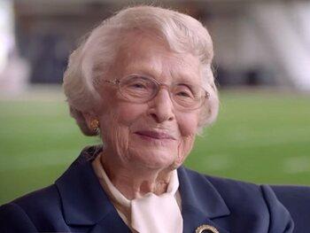 Virginia Halas McCaskey, propriétaire des Chicago Bears