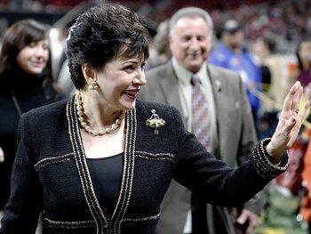 Gayle Benson, propriétaire des New Orleans Saints