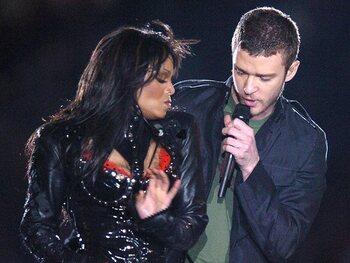 Janet Jackson en Justin Timberlake (2004)