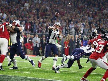 Super Bowl LI: New England Patriots - Atlanta Falcons 34-28 (Seizoen 2016)