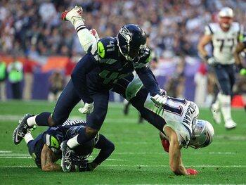 Super Bowl XLIX: New England Patriots - Seattle Seahawks 28-24 (Seizoen 2014)