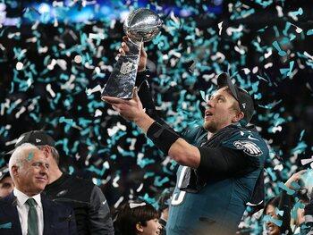 Super Bowl LII: Philadelphia Eagles - New England Patriots 41-33 (Seizoen 2017)