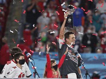 Tom Brady en de Buccaneers in de 7de hemel