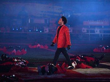 The Weeknd zorgt voor spektakel
