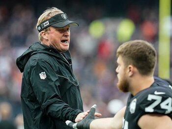 De Raiders hebben geen coach meer