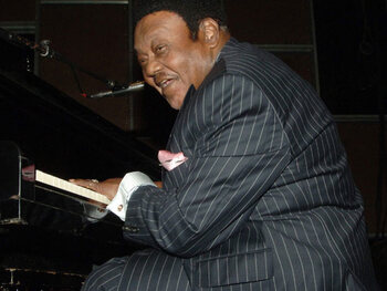Fats Domino (24 octobre)