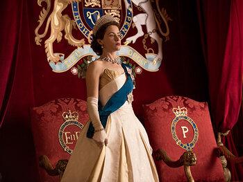 Claire Foy est la Reine Elisabeth II