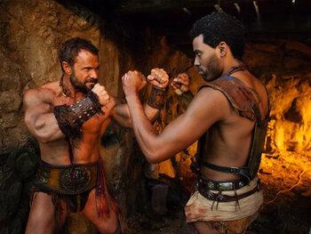 Spartacus : le sang gicle sur l'écran