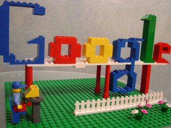Les serveurs et le rack en Lego