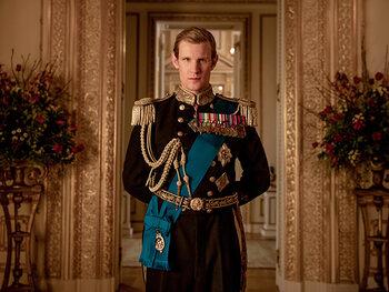 Matt Smith est le Prince Philip