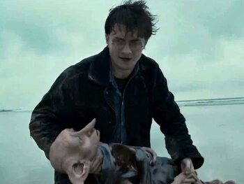 Harry Potter and The Deathly Hallows: Part 1 - Dobby sterft