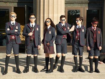 The Umbrella Academy, seizoen 1: ontspoorde familie van superhelden