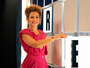 Frances Lefebure is bordjesomdraaister Roxanne Smidts