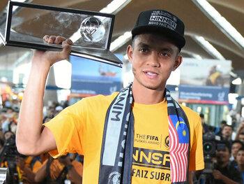 Mohd Faiz Subri versus Pahang FA