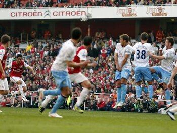 Arsenal op het podium