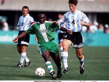 Legendarische matchen: Nigeria klopt Argentinië en kaapt olympische titel weg