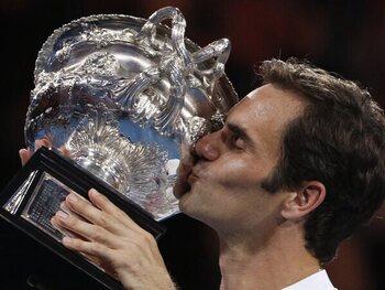 De twintigste Grand Slam van Federer