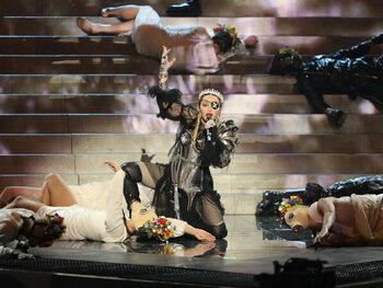 Madonna was minder geliefd