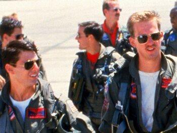 "Maverick et Goose dans ""Top Gun"""