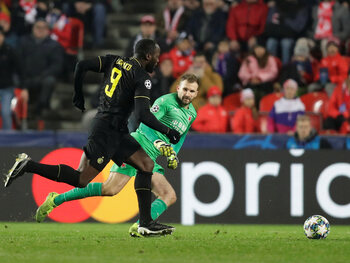 Slavia Praag - Inter (27 november 2019)