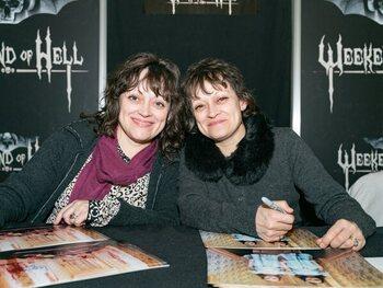 Lisa en Louise Burns