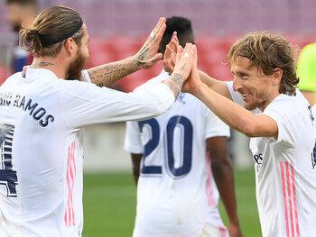 Sergio Ramos en Luka Modric