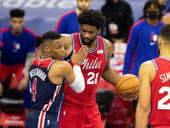 Oosten: Philadelphia Sixers (1e) - Washington Wizards (8)