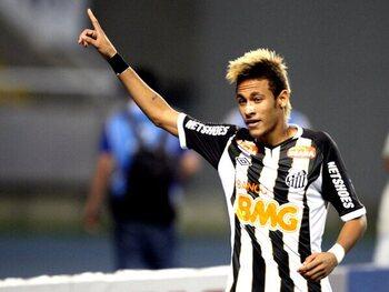 Neymar versus Flamengo