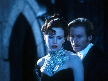 De halsketting van Nicole Kidman