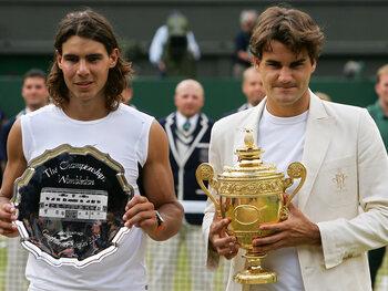 Une rivalité épique avec Rafael Nadal
