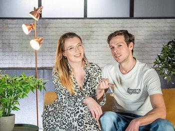 Mila (25) & Mathias (34) uit Oost-Vlaanderen