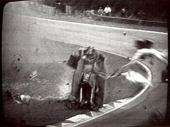 Accident mortel de Gilles Villeneuve à Zolder