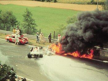 Le crash coûte le titre mondial à Lauda