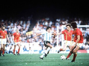 La Belgique ruine la fête de Maradona