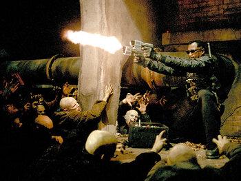 Wesley Snipes Vs le reste du tournage de Blade Trinity